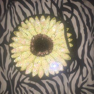 Beautiful little sunflower bag.